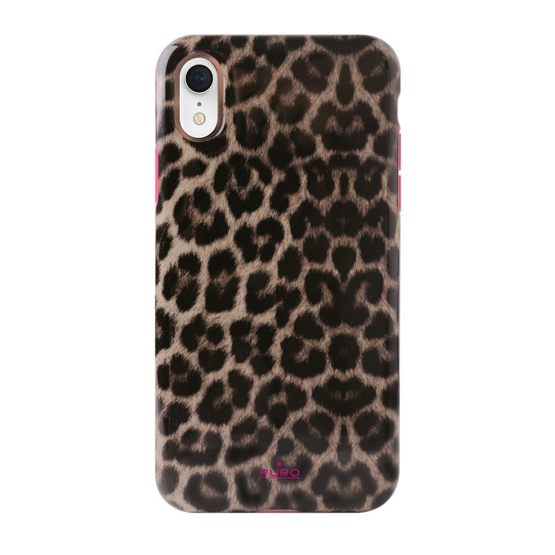 PURO Glam Leopard Cover - Etui iPhone XR (Leo 2) Limited edition