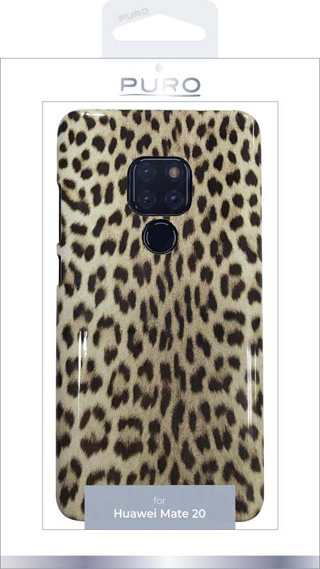 PURO Glam Leopard Cover - Etui Huawei Mate 20 (Leo 3) Limited edition