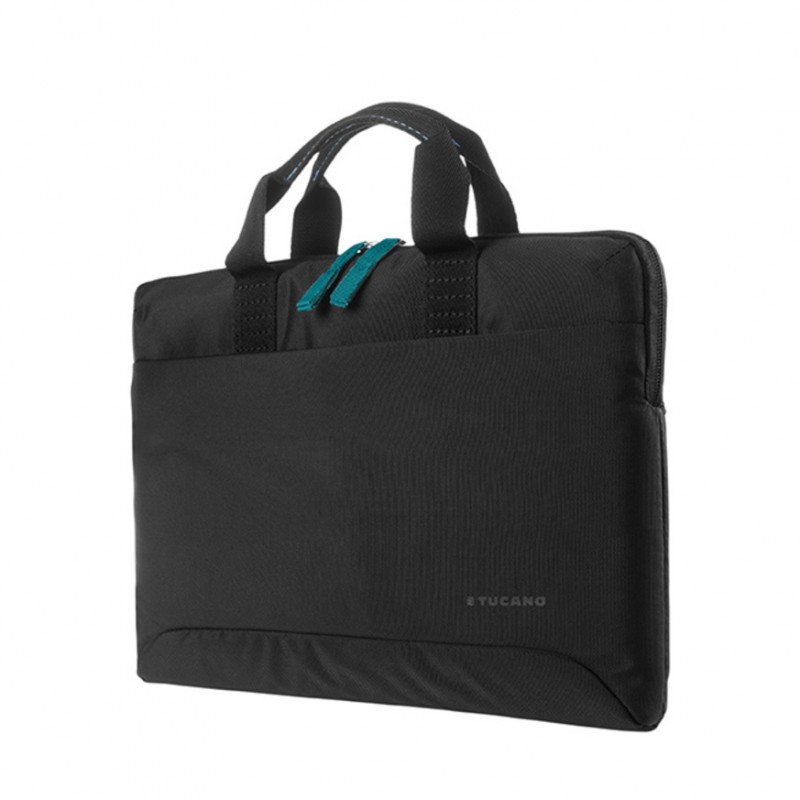 "Tucano Smilza Super Slim Bag - Torba MacBook Air 13"" / MacBook Pro 13""/ MacBook Pro 13"" Retina / MacBook Air 13"" Retina / iPad Pro 12,9"" (2017/2015) (czarny)"