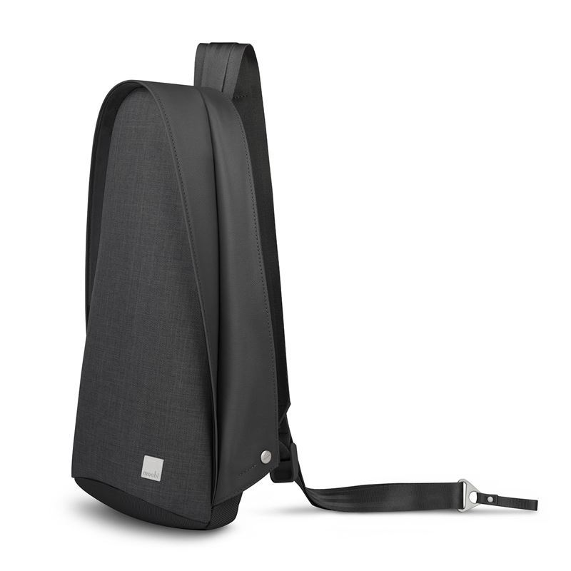 "Moshi Tego Crossbody Sling Bag - Torba antykradzieżowa iPad Pro 10.5"" / Tablet 10.5"" (Charcoal Black)"