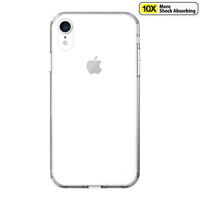 Just Mobile TENC Air Case - Etui iPhone XR (Crystal Clear)