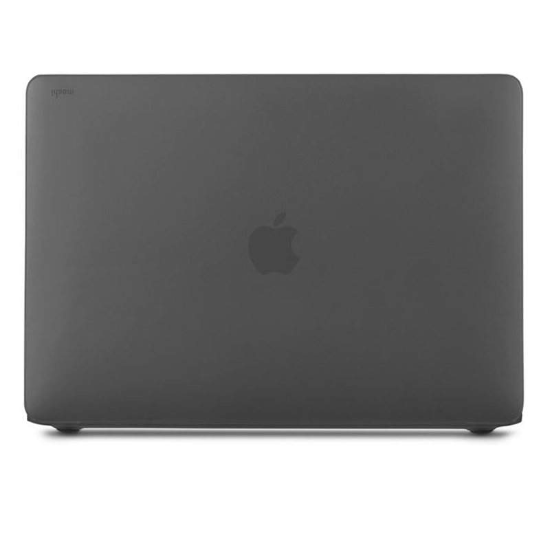 "Moshi iGlaze Hardshell Case - Obudowa MacBook Air 13"" Retina (M1/2020/2019/2018) (Stealth Black)"