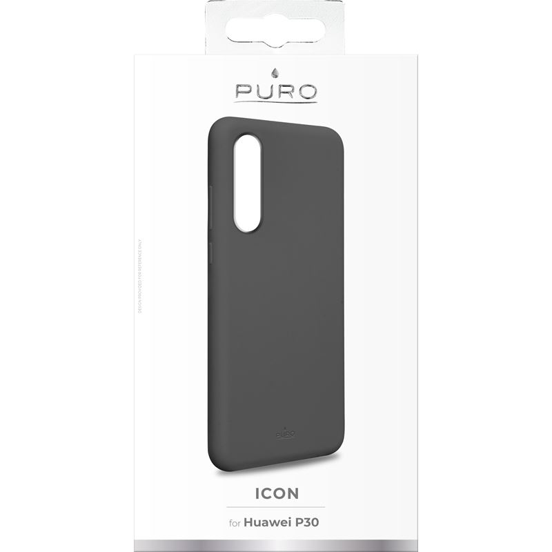 PURO ICON Cover - Etui Huawei P30 (szary) Limited edition