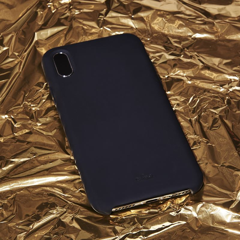 PURO ICON Cover - Etui iPhone Xs Max (czarny) Limited edition