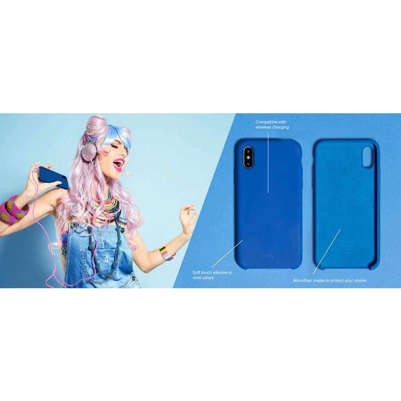 PURO ICON Cover - Etui Samsung Galaxy S10 (czerwony) Limited edition