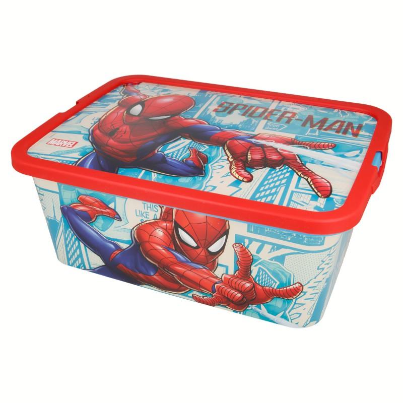 Spiderman - Pojemnik / organizer na zabawki 13 L