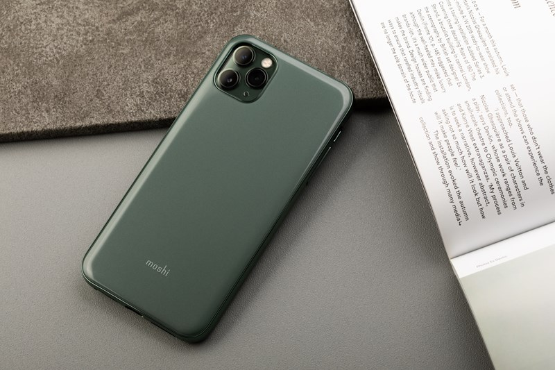 Moshi iGlaze - Etui iPhone 11 Pro Max (Midnight Green)