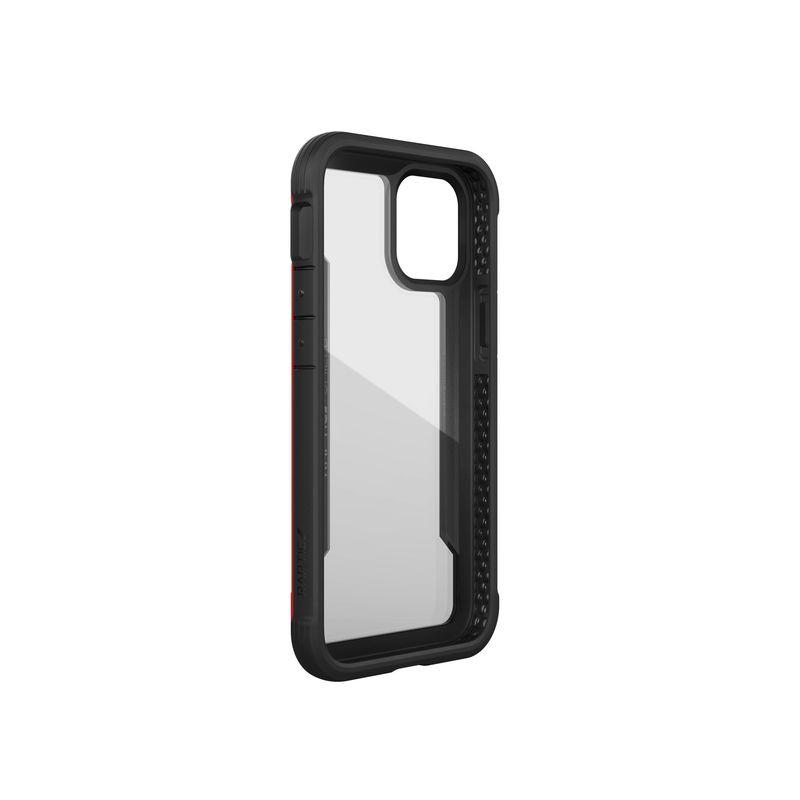 X-Doria Raptic Shield - Etui aluminiowe iPhone 12 Mini (Drop test 3m) (Red)