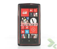 Geffy - Etui Nokia Lumia 720 TPU solid color black