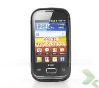 Geffy - Etui Samsung Galaxy Young/Young Duos TPU solid color black