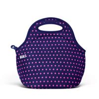BUILT Gourmet Getaway Lunch Tote - Torba na lunch (Mini Dot Navy)