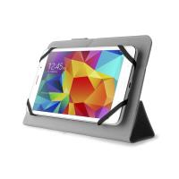 PURO Universal Booklet Easy - Etui tablet 7'' w/Folding back + stand up + Magnetic Closure (czarny)