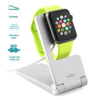 PURO Portable Desk Holder - Składany stojak Apple Watch (srebrny)