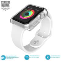 Speck CandyShell Fit - Bumper do Apple Watch 42mm (Clear/Clear)