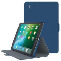 Speck StyleFolio - Etui iPad mini 4 (Deep Sea Blue/Nickel Grey)