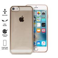 PURO Satin Cover - Etui iPhone SE / iPhone 5s / iPhone 5 (Gold)
