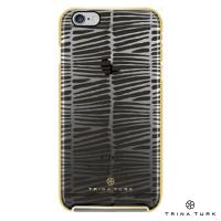 Incipio Trina Turk 2-Pc Case With Metallic Bumper - Etui iPhone SE / iPhone 5s / iPhone 5 (Descanso Black/Clear/Gold)