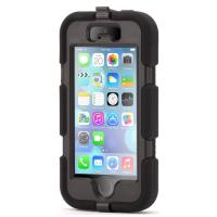 Griffin Survivor All-Terrain - Pancerne etui iPhone SE / iPhone 5s / iPhone 5 (czarny)