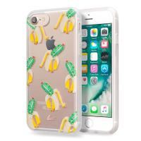 Laut POP INK - Etui iPhone 8 / 7 / 6s / 6 z 2 foliami na ekran w zestawie (Cacti-Split)