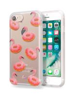 Laut POP INK - Etui iPhone 8 / 7 / 6s / 6 z 2 foliami na ekran w zestawie (Flaming-O)