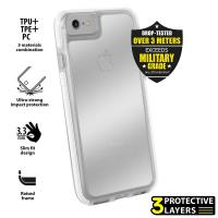 PURO Impact Pro Hard Shield - Etui iPhone 8 / 7 (biały)