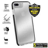 PURO Impact Pro Hard Shield - Etui iPhone 8 Plus / 7 Plus (czarny)