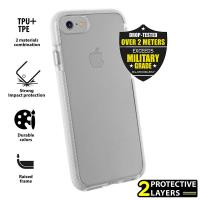 PURO Impact Pro Flex Shield - Etui iPhone 8 / 7 (biały)