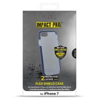 PURO Impact Pro Flex Shield - Etui iPhone 8 / 7 (granatowy)