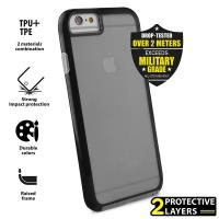 PURO Impact Pro Flex Shield - Etui iPhone 6s / iPhone 6 (czarny)