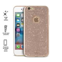 PURO Glitter Shine Cover - Etui iPhone 6s / iPhone 6 (Gold)