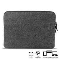 "PURO Uni Slim Secure Sleeve - Pokrowiec MacBook Air 13"" / MacBook Pro 13"" Retina / Ultrabook 13"" (szary)"