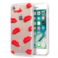 Laut POP INK - Etui iPhone 8 / 7 / 6s / 6 z 2 foliami na ekran w zestawie (Hotlips)