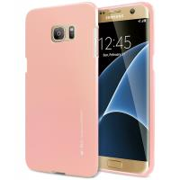 Mercury I-Jelly - Etui Samsung Galaxy S7 Edge (Rose Gold)