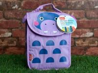 BUILT Big Apple Buddies Lunch Sack - Torba na lunch (Hippo)