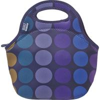 BUILT Gourmet Getaway Lunch Tote - Torba na lunch (Plum Dot)