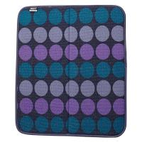 BUILT Reversible Bar Drying Mat - Mata do suszenia naczyń 40,6 x 45,7 cm (Plum Dot)