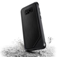 X-Doria Defense Lux - Etui aluminiowe Samsung Galaxy S8+ (Black Leather)