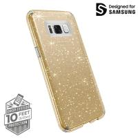 Speck Presidio Clear with Glitter - Etui Samsung Galaxy S8+ (Gold Glitter/Clear)