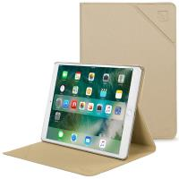"TUCANO Minerale - Etui iPad 9.7"" (2018/2017) w/Magnet & Stand up (Gold)"