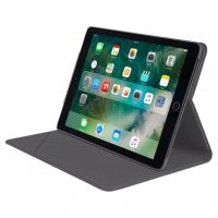 "TUCANO Minerale - Etui iPad 9.7"" (2018/2017) w/Magnet & Stand up (Space Gray)"