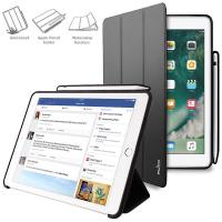 "PURO Zeta Pro - Etui iPad Pro 10.5"" (2017) w/Magnet & Stand up + Pencil Holder (czarny)"