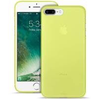 "PURO Ultra Slim ""0.3"" Cover - Etui iPhone 8 Plus / 7 Plus (limonkowy)"