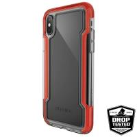 X-Doria Defense Clear - Etui iPhone X (Red)