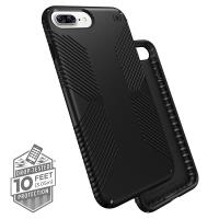 Speck Presidio Grip - Etui iPhone 8 Plus / 7 Plus / 6s Plus / 6 Plus (Black/Black)