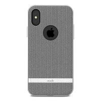 Moshi Vesta - Etui iPhone Xs / X (Herringbone Gray)