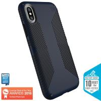 Speck Presidio Grip - Etui iPhone X (Eclipse Blue/Carbon Black)