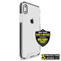 PURO Impact Pro Hard Shield - Etui iPhone Xs / X (czarny)