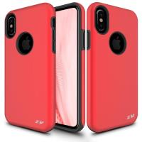 Zizo Sleek Hybrid Cover - Etui iPhone X (Red)