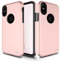 Zizo Sleek Hybrid Cover - Etui iPhone X (Rose Gold)
