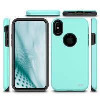 Zizo Sleek Hybrid Cover - Etui iPhone X (Teal)